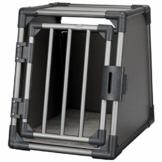 Trixie 39335 Transportbox, Aluminium, S: 48 × 56 × 61 cm, graphit - 1