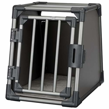 Trixie 39335 Transportbox, Aluminium, S: 48 × 56 × 61 cm, graphit - 2