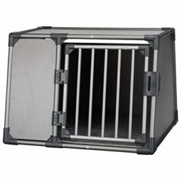 Trixie 39338 Transportbox, Aluminium, L: 92 × 64 × 78 cm, graphit - 1