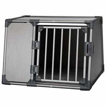 Trixie 39338 Transportbox, Aluminium, L: 92 × 64 × 78 cm, graphit - 3
